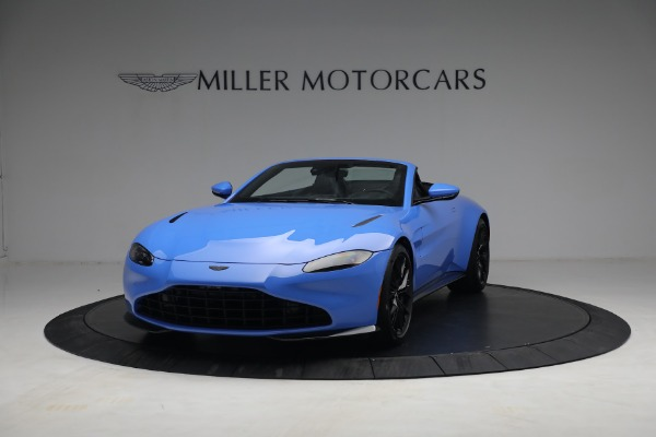 New 2021 Aston Martin Vantage Roadster for sale $186,386 at Bugatti of Greenwich in Greenwich CT 06830 11