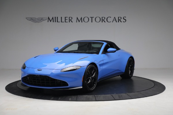 New 2021 Aston Martin Vantage Roadster for sale $186,386 at Bugatti of Greenwich in Greenwich CT 06830 12
