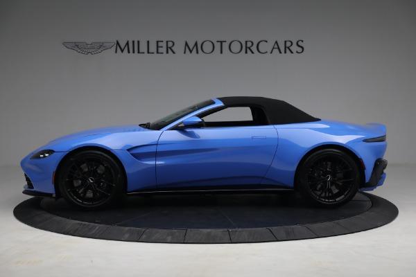 New 2021 Aston Martin Vantage Roadster for sale $186,386 at Bugatti of Greenwich in Greenwich CT 06830 13