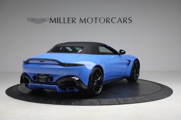 New 2021 Aston Martin Vantage Roadster for sale $186,386 at Bugatti of Greenwich in Greenwich CT 06830 15