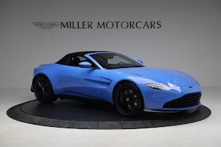 New 2021 Aston Martin Vantage Roadster for sale $186,386 at Bugatti of Greenwich in Greenwich CT 06830 17