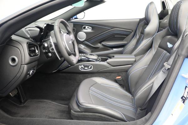 New 2021 Aston Martin Vantage Roadster for sale $186,386 at Bugatti of Greenwich in Greenwich CT 06830 18