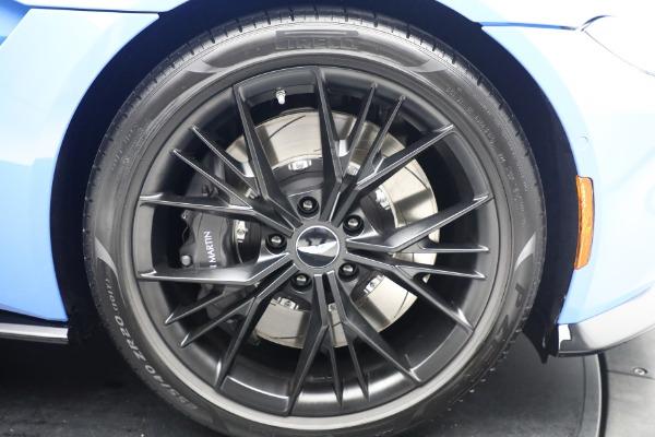 New 2021 Aston Martin Vantage Roadster for sale $186,386 at Bugatti of Greenwich in Greenwich CT 06830 24