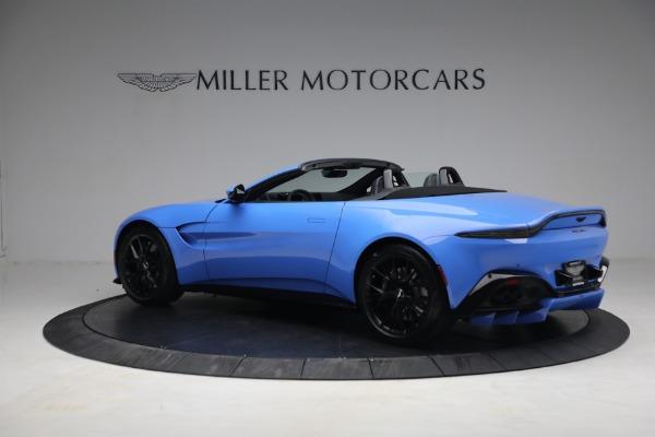 New 2021 Aston Martin Vantage Roadster for sale $186,386 at Bugatti of Greenwich in Greenwich CT 06830 3