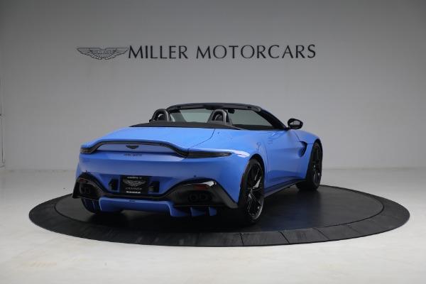 New 2021 Aston Martin Vantage Roadster for sale $186,386 at Bugatti of Greenwich in Greenwich CT 06830 5