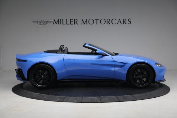 New 2021 Aston Martin Vantage Roadster for sale $186,386 at Bugatti of Greenwich in Greenwich CT 06830 7