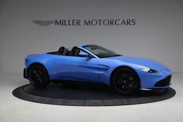 New 2021 Aston Martin Vantage Roadster for sale $186,386 at Bugatti of Greenwich in Greenwich CT 06830 8