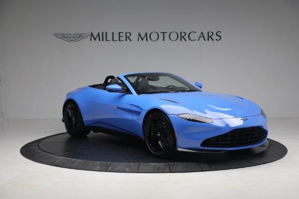New 2021 Aston Martin Vantage Roadster for sale $186,386 at Bugatti of Greenwich in Greenwich CT 06830 9