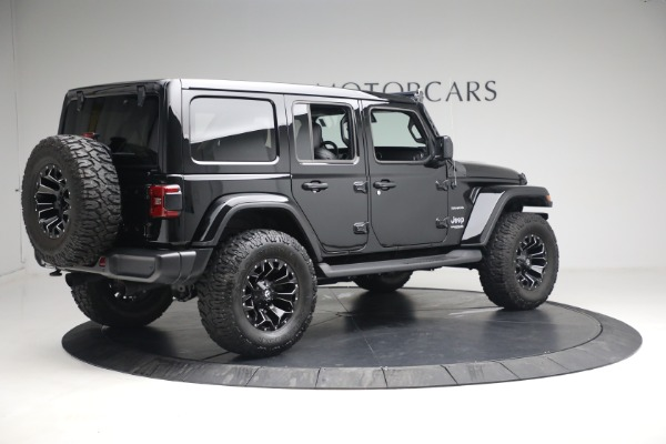 Used 2020 Jeep Wrangler Unlimited Sahara for sale Sold at Bugatti of Greenwich in Greenwich CT 06830 10