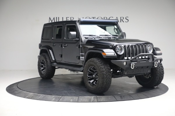 Used 2020 Jeep Wrangler Unlimited Sahara for sale Sold at Bugatti of Greenwich in Greenwich CT 06830 13