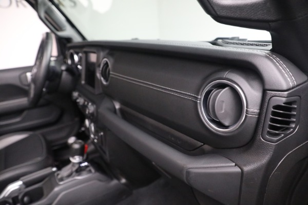 Used 2020 Jeep Wrangler Unlimited Sahara for sale Sold at Bugatti of Greenwich in Greenwich CT 06830 21