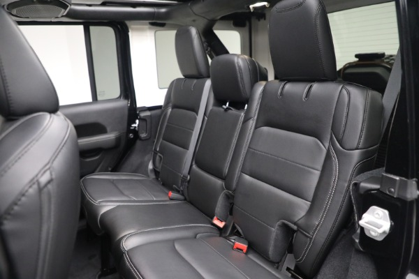 Used 2020 Jeep Wrangler Unlimited Sahara for sale Sold at Bugatti of Greenwich in Greenwich CT 06830 25