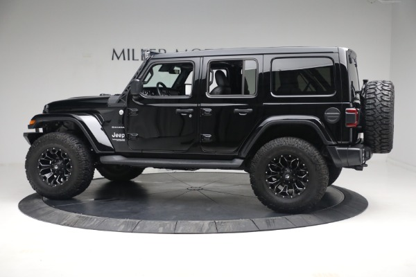 Used 2020 Jeep Wrangler Unlimited Sahara for sale Sold at Bugatti of Greenwich in Greenwich CT 06830 5