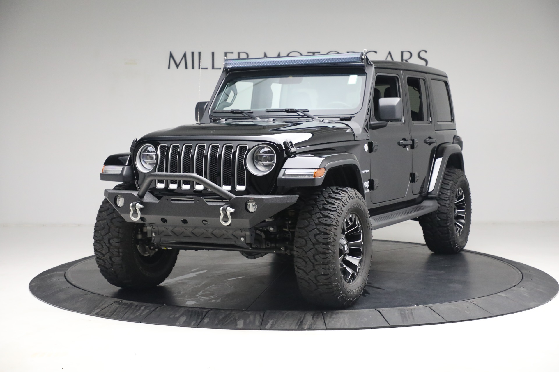 Used 2020 Jeep Wrangler Unlimited Sahara for sale Sold at Bugatti of Greenwich in Greenwich CT 06830 1
