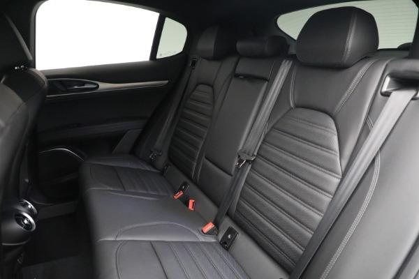 New 2022 Alfa Romeo Stelvio Veloce for sale $56,955 at Bugatti of Greenwich in Greenwich CT 06830 23