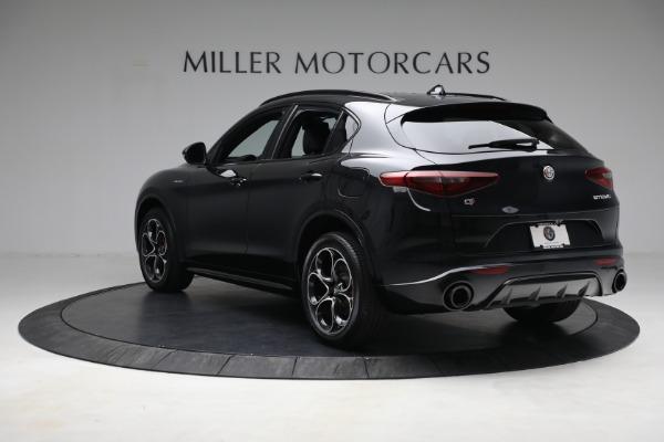 New 2022 Alfa Romeo Stelvio Veloce for sale $56,955 at Bugatti of Greenwich in Greenwich CT 06830 5