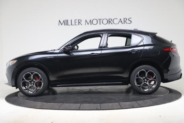 New 2022 Alfa Romeo Stelvio Veloce for sale $55,155 at Bugatti of Greenwich in Greenwich CT 06830 3