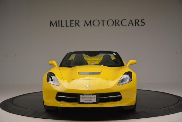 Used 2014 Chevrolet Corvette Stingray Z51 for sale Sold at Bugatti of Greenwich in Greenwich CT 06830 12