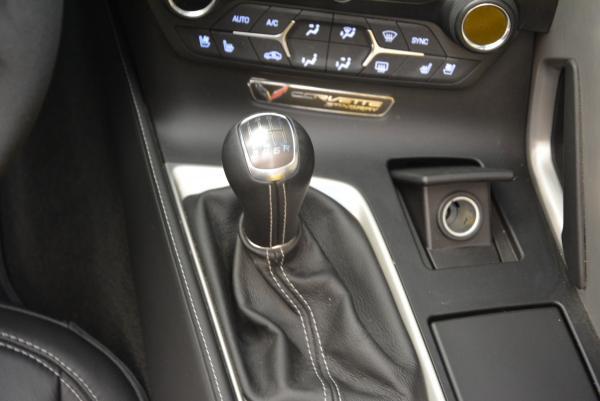 Used 2014 Chevrolet Corvette Stingray Z51 for sale Sold at Bugatti of Greenwich in Greenwich CT 06830 17
