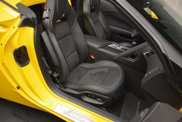 Used 2014 Chevrolet Corvette Stingray Z51 for sale Sold at Bugatti of Greenwich in Greenwich CT 06830 20