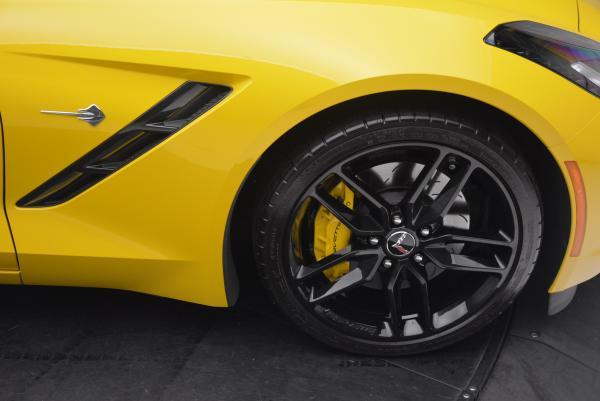 Used 2014 Chevrolet Corvette Stingray Z51 for sale Sold at Bugatti of Greenwich in Greenwich CT 06830 21