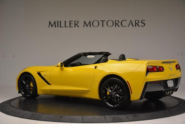 Used 2014 Chevrolet Corvette Stingray Z51 for sale Sold at Bugatti of Greenwich in Greenwich CT 06830 4