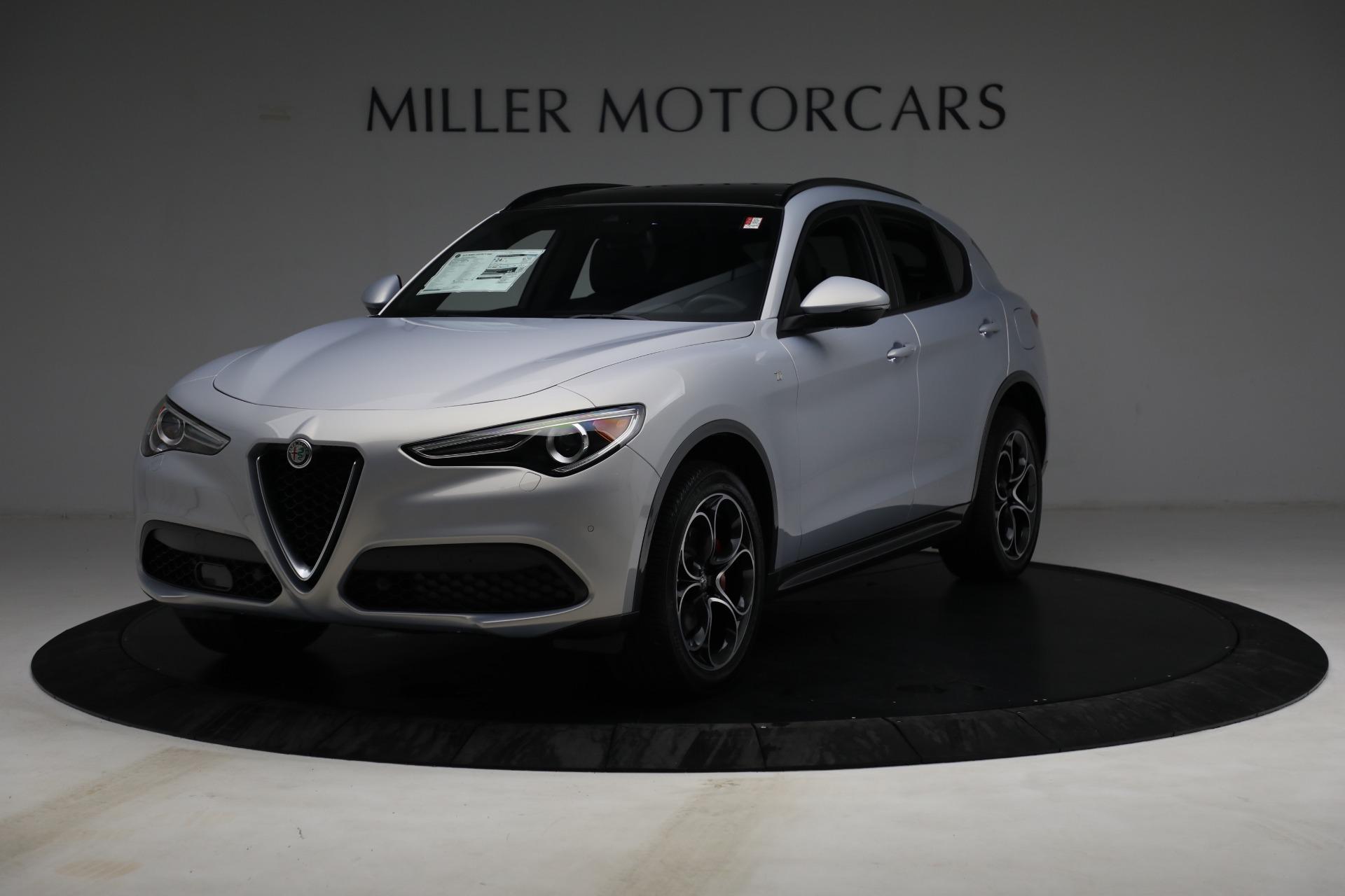 New 2022 Alfa Romeo Stelvio Ti for sale $55,805 at Bugatti of Greenwich in Greenwich CT 06830 1