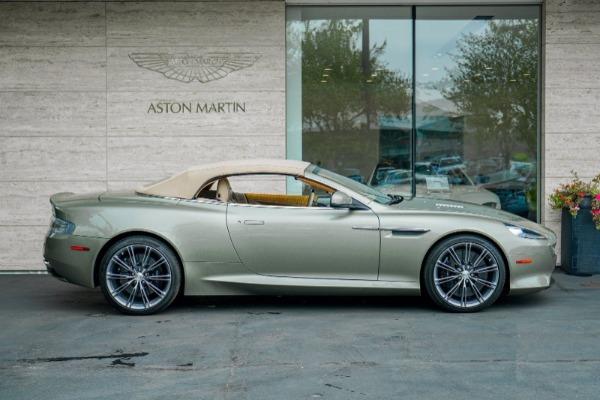 Used 2015 Aston Martin DB9 Volante for sale $119,990 at Bugatti of Greenwich in Greenwich CT 06830 3