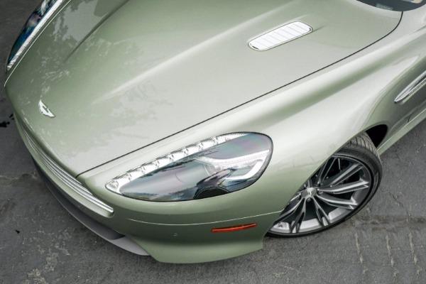 Used 2015 Aston Martin DB9 Volante for sale $119,990 at Bugatti of Greenwich in Greenwich CT 06830 4