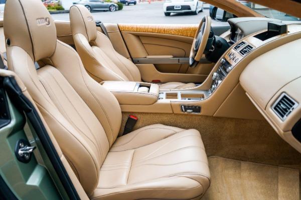 Used 2015 Aston Martin DB9 Volante for sale $119,990 at Bugatti of Greenwich in Greenwich CT 06830 6