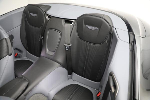 New 2021 Aston Martin DB11 Volante for sale $260,286 at Bugatti of Greenwich in Greenwich CT 06830 19