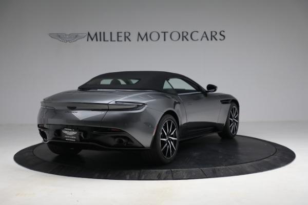 New 2021 Aston Martin DB11 Volante for sale $260,286 at Bugatti of Greenwich in Greenwich CT 06830 26