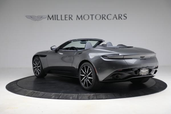 New 2021 Aston Martin DB11 Volante for sale $260,286 at Bugatti of Greenwich in Greenwich CT 06830 6