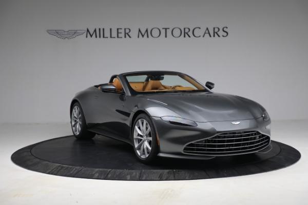 New 2021 Aston Martin Vantage Roadster for sale $174,586 at Bugatti of Greenwich in Greenwich CT 06830 10