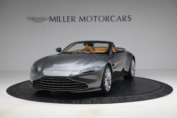 New 2021 Aston Martin Vantage Roadster for sale $174,586 at Bugatti of Greenwich in Greenwich CT 06830 12