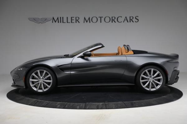 New 2021 Aston Martin Vantage Roadster for sale $174,586 at Bugatti of Greenwich in Greenwich CT 06830 2