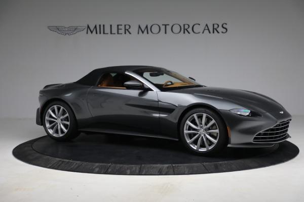 New 2021 Aston Martin Vantage Roadster for sale $174,586 at Bugatti of Greenwich in Greenwich CT 06830 21