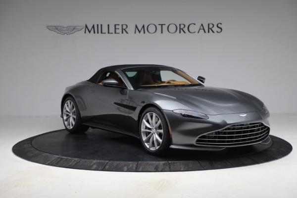 New 2021 Aston Martin Vantage Roadster for sale $174,586 at Bugatti of Greenwich in Greenwich CT 06830 22