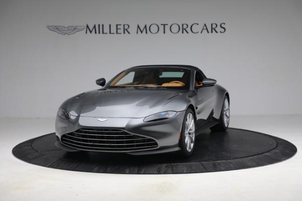 New 2021 Aston Martin Vantage Roadster for sale $174,586 at Bugatti of Greenwich in Greenwich CT 06830 23