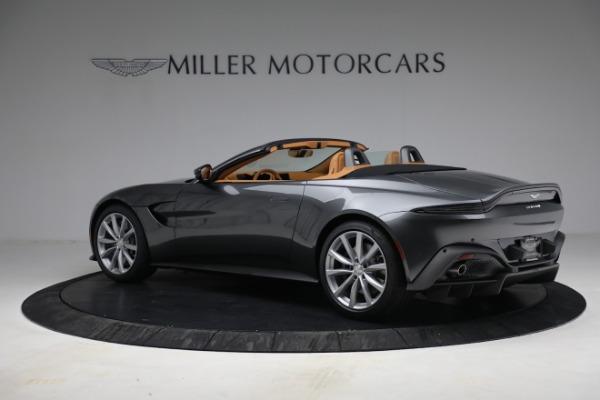 New 2021 Aston Martin Vantage Roadster for sale $174,586 at Bugatti of Greenwich in Greenwich CT 06830 3