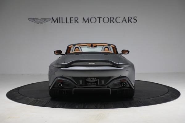 New 2021 Aston Martin Vantage Roadster for sale $174,586 at Bugatti of Greenwich in Greenwich CT 06830 5