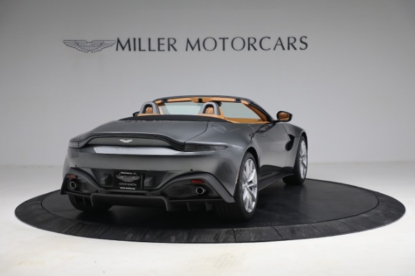 New 2021 Aston Martin Vantage Roadster for sale $174,586 at Bugatti of Greenwich in Greenwich CT 06830 6