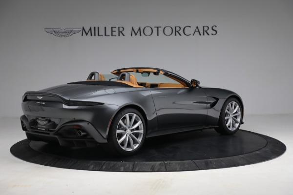 New 2021 Aston Martin Vantage Roadster for sale $174,586 at Bugatti of Greenwich in Greenwich CT 06830 7