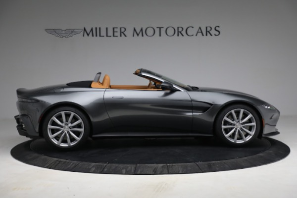 New 2021 Aston Martin Vantage Roadster for sale $174,586 at Bugatti of Greenwich in Greenwich CT 06830 8