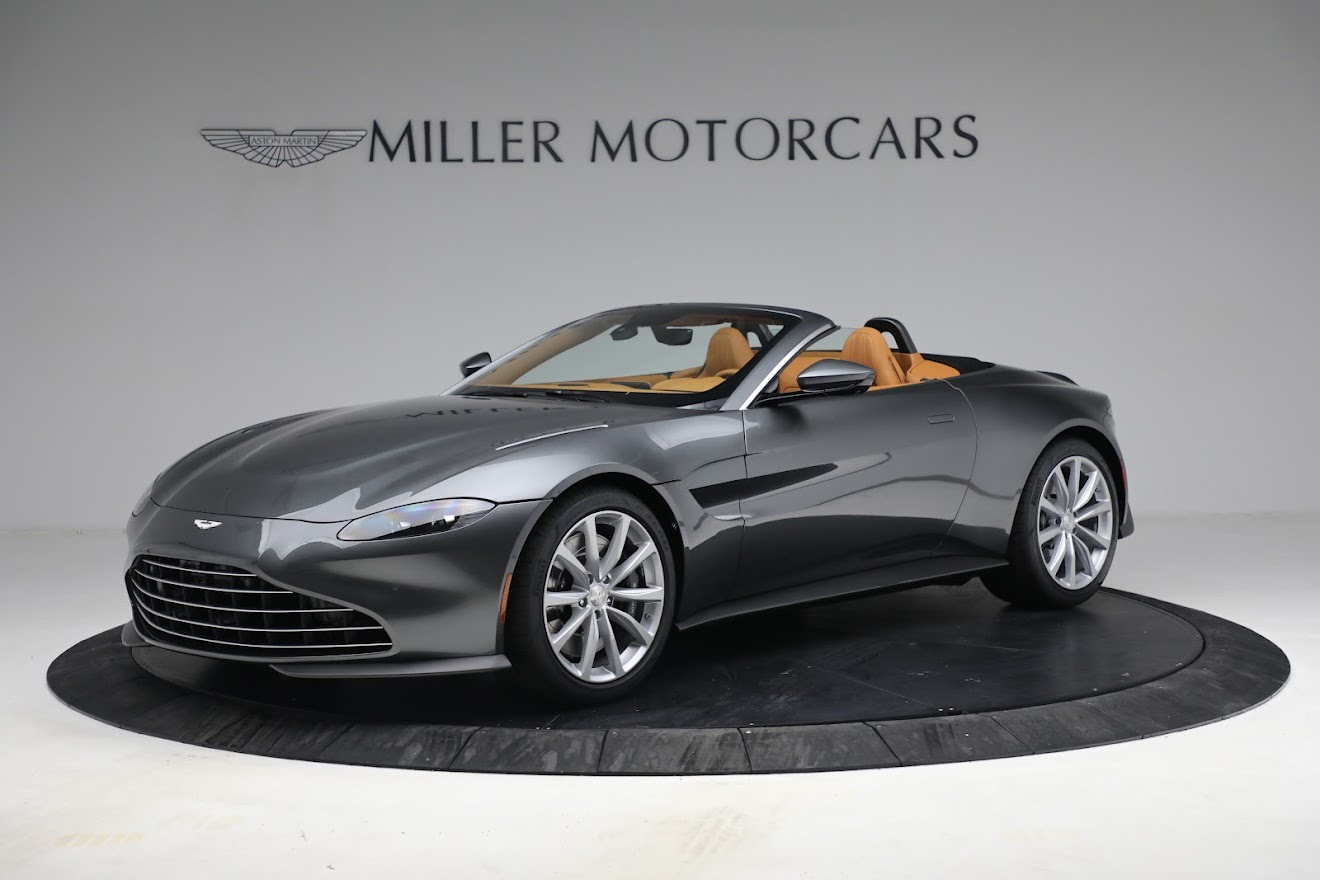 New 2021 Aston Martin Vantage Roadster for sale $174,586 at Bugatti of Greenwich in Greenwich CT 06830 1