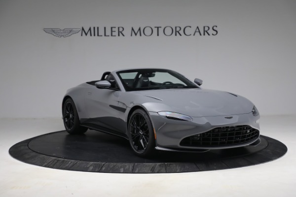 New 2021 Aston Martin Vantage Roadster for sale $180,286 at Bugatti of Greenwich in Greenwich CT 06830 10