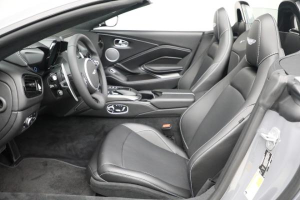 New 2021 Aston Martin Vantage Roadster for sale $180,286 at Bugatti of Greenwich in Greenwich CT 06830 14