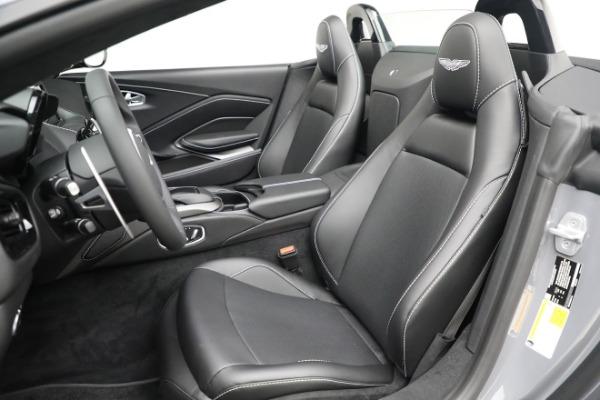 New 2021 Aston Martin Vantage Roadster for sale $180,286 at Bugatti of Greenwich in Greenwich CT 06830 15