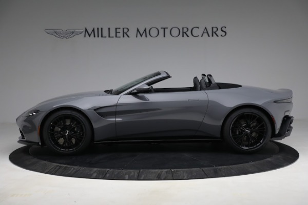 New 2021 Aston Martin Vantage Roadster for sale $180,286 at Bugatti of Greenwich in Greenwich CT 06830 2