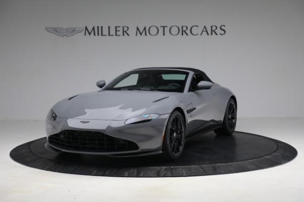 New 2021 Aston Martin Vantage Roadster for sale $180,286 at Bugatti of Greenwich in Greenwich CT 06830 21